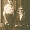 "Josie Louisa Dew (1897-1999), Mary Lavinna Dew (1895-1992) Written in the Rogers Reunion Photo Album Volume III page 56 ""Josie & Mary Dew"""