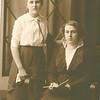 """Josie Louisa Dew (1897-1999), Mary Lavinna Dew (1895-1992) Written in the Rogers Reunion Photo Album Volume III page 56 """"Josie & Mary Dew"""""""