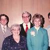 "Paul Edwin Dew (1961- ), Viola Clara (Radke) Dew (1927-2013), Robert Edwin Dew (1924-2006) Catherine Elizabeth Dew (1955-   ) David William Dew (1959 -  )  Written in the  Rogers Reunion Photo Album Volume III page 114 ""Paul, Vickie, Ed, Cathy, Dave Dew May 1983"""