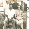 "Back: Evelyn Lois Dew (1929-2004), Donna Rogers Dew (1927-2006)<br /> Front: Robert Edwin Dew (1924-2006), Edna Ruth Dew (1925-2003)<br /> Written in the Rogers Reunion Photo Album Volume III page 113 ""About 1940 - Evelyn & Donna - Ed & Edna in front"""