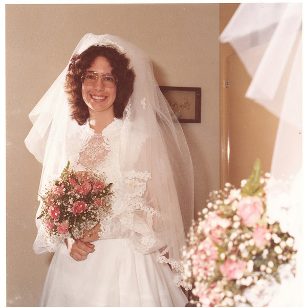"Donna June Hughes born 1955.  Written in the Rogers Reunion Photo Album Volume III page 128 ""Wedding 9-6-1980"""