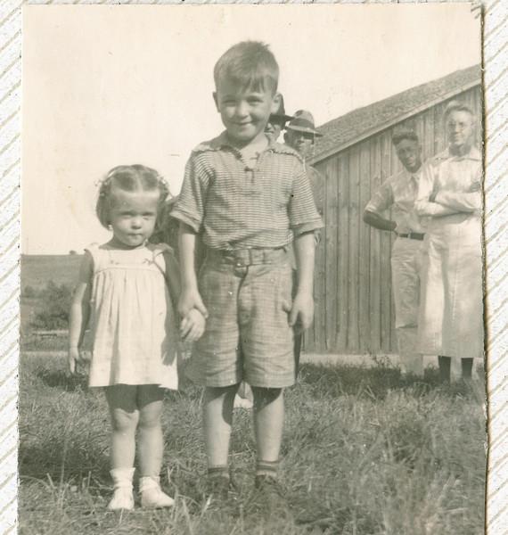 "Ellen Lynn Lipsey (1936 - ) William Lloyd Lipsey (1932-1993) Written in the Rogers Reunion Photo Album Volume II page 38 near photo ""Bill and Ellen Lipsey""."