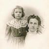 "Vivian Adeline Conrad (1903-1985), Flora Permilla (Frantz) Conrad (1867-1961)  Written in the Rogers Reunion Photo Album Volume II page 47 near the photo ""Flora Conrad & dau Vivian"""