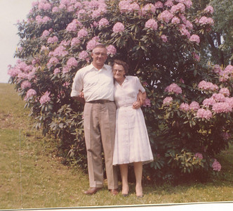 "Albert Rogers Meredith (1911-1988) and Ruby L. Bailey (Heberling) Meredith (1908 – 1997) Written in the Rogers Reunion Photo Album Volume II page 31 with the photograph ""Albert & Ruby Meredith – Newlyweds Photograph taken 1959""  Albert and Ruby were married April 4, 1959."