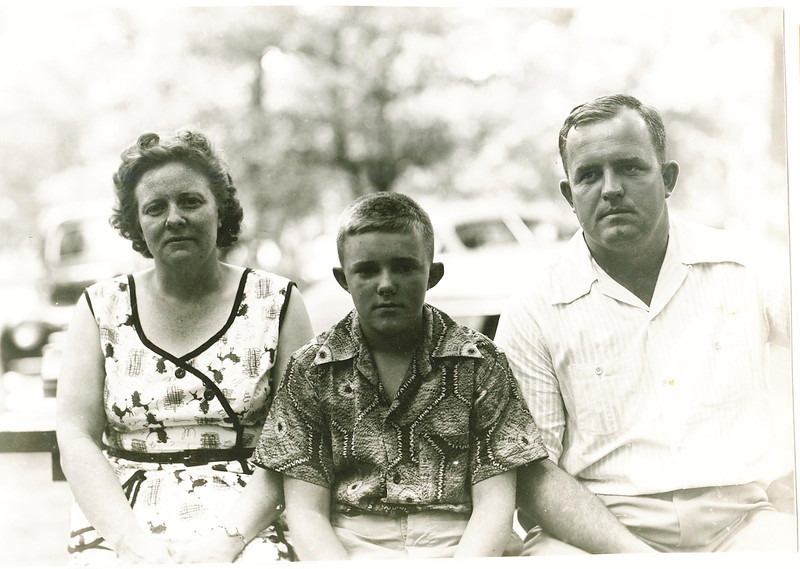 "Helen Gene (Halowell) Kline (1918-1988),  David Blaine Kline (1940-1999) Harry Ford Kline (1918-2005)   Written in the Rogers Reunion Photo Album Volume II page 23 above the photograph ""Helen, son David & Harry Lowell Park, Il at Rogers family reunion."""