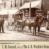 """Charles Melvin Conrad (1872-1935) Written in the Rogers Reunion Photo Album Volume II page 52 under the photo """"Probably New London, Ia."""""""