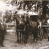 "Charles Melvin Conrad (1872-1935) Vivian Adeline Conrad (1903-1985)  Written in the Rogers Reunion Photo Album Volume II page 51 near the photo ""Charles Conrad and ""his medicine wagon and team at his home at New London, Ia. Vivian is in the wagon"" (Flora's husband)"""