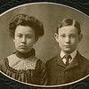 "Gertrude Marie Frantz (1914-   ) Melvin Lowell Frantz (1920-1987)  Written in the Rogers Reunion Photo Album Volume II page 50 near the photo ""Gertrude Frantz age 13 Lowell age 10 Dubuque Ia 1903 Elwin's children""  Elwin is Lowell Elwin Frantz (1892-1934)."