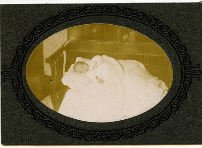 "Charles Arthur Conrad (1904-1904)  Written in the Rogers Reunion Photo Album Volume II page 47 near the photo ""Baby Charles Arthur Conrad age 3 months born June 3, 1904 died Sept 6, 1904"""