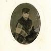 "Ruey Jerusha Rogers (1850-1933) daughter of Joseph Rogers and Hannah Clark. Written in the Rogers Reunion Photo Album Volume 1 ""Ruey (tin-type)"""