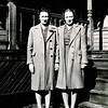 "Zella Elizabeth Meredith (September 10, 1921 - September 14, 1999) and Kathryn Rae Meredith (March 29, 1924 - ) daughters of Harry Reasman Meredith  and Mabel Elizabeth Case.  Written in the Rogers Reunion Photo Album Volume 1, page 21 ""Zella & Kathryn 1940's?"""