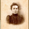 Edna Bertha Meredith (November 22, 1872 – January 28, 1952) daughter of James Reasman Meredith and Permilla Alvira Rogers. Rogers Reunion Photo Album Volume 1, page 18.