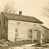 Original house on the Rogers farm when Joseph and Hannah purchased it in 1864.