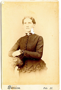 Permilla Alvira Rogers (November 6, 1839 - June 22, 1913) daughter of Joseph and Hannah Rogers.  Married James Reasman Meredith.