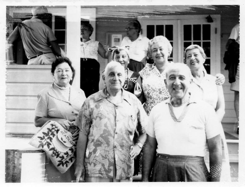 Sadie Miller, Mervin Rothschild, Francis Epstein, Kate Rosen, Herman Rosen, Estelle Rosen