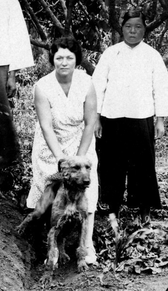 Sadie Rothschild, Amah<br /> <br /> Chefoo, China, ca 1930