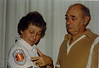 Carl Rothschild, Naomi Bloom Rothschild<br /> <br /> Naomi's uniform for the Englewood Volunteer Ambulance Corps<br /> <br /> ca 1985