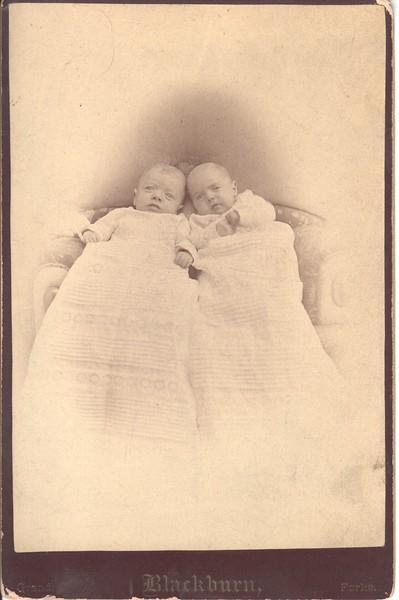 Twin babies, Minnesota