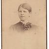 Possibly Bertha Ella Von Rucholz (later Dohm), married names Bywater, de Villiers, Shields. Daughter of Genevieve Stinson Von Ruchholz Dohm. Seattle, McClaire & Quirk, making timeframe 1880s.