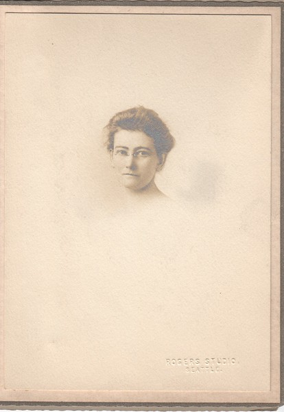 Unknown woman from Seattle (Stewart friend)