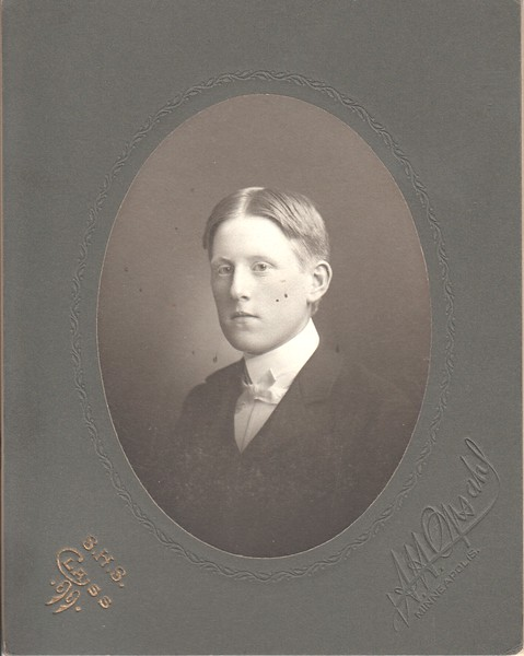 Carl Wold, Class of 1899, Minneapolis