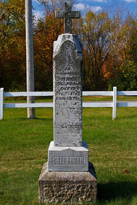 In memory of Patrick Callaghan died Dec. 25, 1872 aged 63 Yrs. May his soul rest in peace. CALLAGHAN