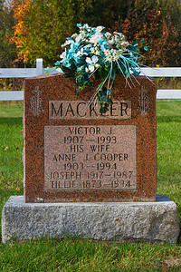 Mackler Victor J. 1907 - 1993 his wife Anne J. Cooper 1903 - 1994 Joseph 1917 - 1987 Tillie 1873 - 1934