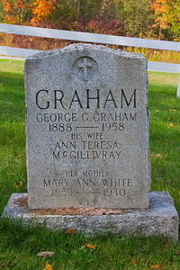 GRAHAM George G. Graham 1888 - 1958 his wife Ann Teresa McGillivray her mother Mary Ann White 1853 - 1930 R.I.P.