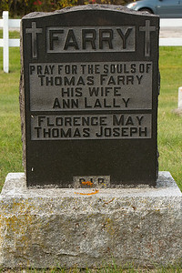 FARRY Pray for the souls of Thomas Farry his wife Ann Lally Florence May Thomas Joseph R.I.P.