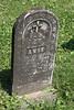 ANNE<br /> Tochter von <br /> P. & Magdalena<br /> GENGLER<br /> Gestorben 10. Sept 1873<br /> im Alter<br /> von 28 Tagen