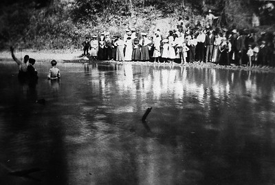 Unknown Baptism. Probably Wabash County, IL.