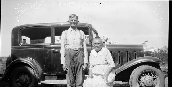 James Matthews and Della Greathouse circa 1940