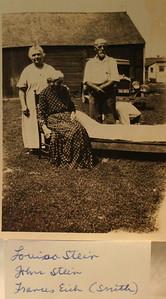 Louise Stein Frances Eich and John Stein
