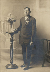 Oscar Stein Confirmation 10 April, 1914
