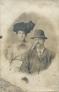 John Stein and Louise Schmitz date unknown.