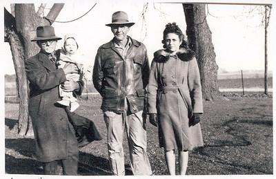 John Stein, Dennis Nehring, Oscar Stein, Mary Louise (Stein) Nehring