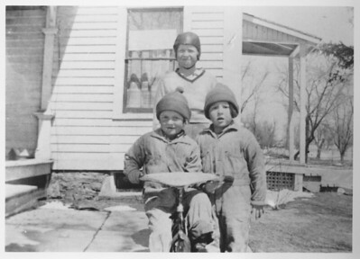 Pearlie, Fern and Faye  Date unknown