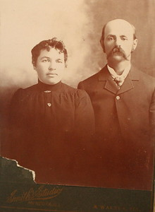 Louisa and John Stein. Date Unknown.