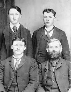James Jefferson Wolf and sons John Alonzo Frank
