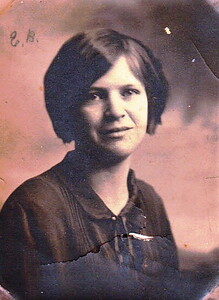 Estes Bailey Wolfe wife of Clarence Ellsworth Wolfe