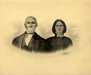 Benedict Stevens (1802-1883) and his wife Eve (Ow) Stevens (1804-1882).