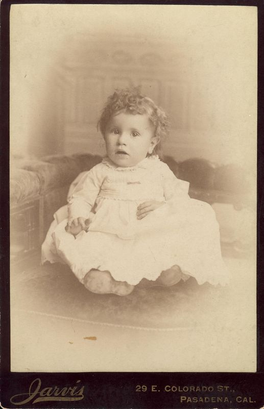 Viola May Stevens (1886- 1950) daughter of Wesley Lee Stevens (1841-1928) and Sarah Jane (Keister) Stevens (1843-1907)