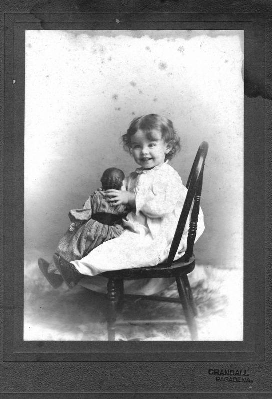Hazel Benshoff (1896-1991) daughter of Will Alton and Claudine Deforest (Stevens) Benshoff.