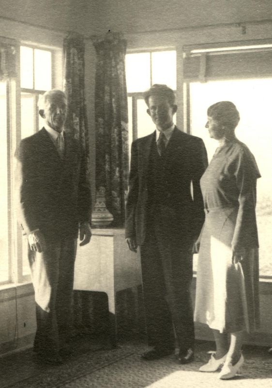 F.G.H. Stevens (1874-1965) married his nephew Max Benshoff (1898-1968) to Audrey <br /> Evangeline Stonebrook (1897-1974) on June 25, 1937 in the minister's home in Pasadena, California.