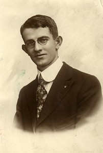 Max Benshoff (1898-1968) son of Will Alton and Claudine (Stevens) Benshoff