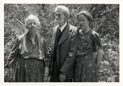 Claudine Deforest (Stevens) Benshoff (1869-1960) husband Will Alton Benshoff (1869-1959) daugher Hazel Benshoff (1896-1991)