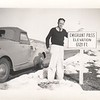 Don on trip to West Coast - Emigrant Pass