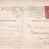 Address side of post card with Donald Stewart, 1909