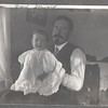 Fred Stewart and baby Don, 1907