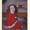 Lou Ann Stewart (daughter of Don and Edith), Christmas 1964